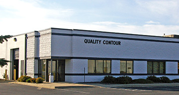 Exterior of Quality Contour's CNC machining shop in Lakeville, MN